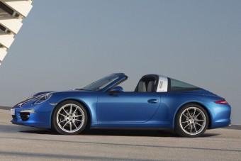 Visszatért a Porsche 911 Targa
