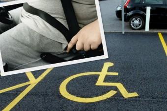 Ingyen parkolhatnak az elhízott autósok