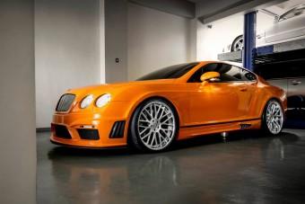 Kivetkőzött magából a Bentley