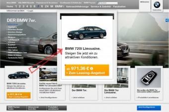Jön a kétliteres BMW 7-es?