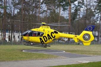 Mentőhelikopterrel furikáztak az ADAC vezetői