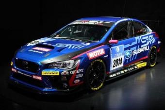 Élőben a Subaru versenyautója