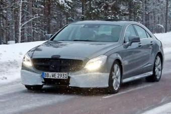 Megújul a Mercedes négyajtós kupéja