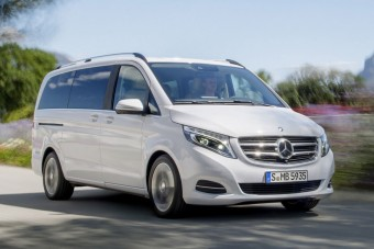 V-osztály: Luxusbusz a Mercedestől