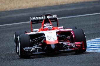 F1: Nem a maradékra hajt a Marussia