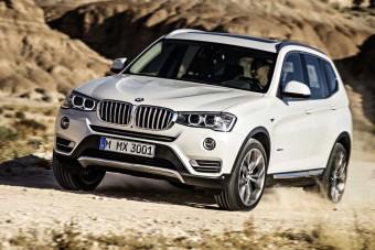 Megújult a BMW X3