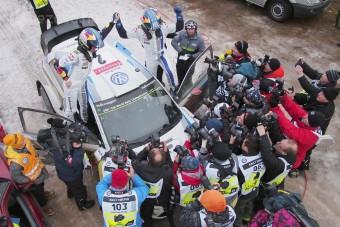VW-siker hóban is