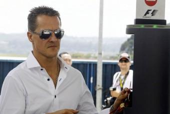 Schumacher motorost gázolt
