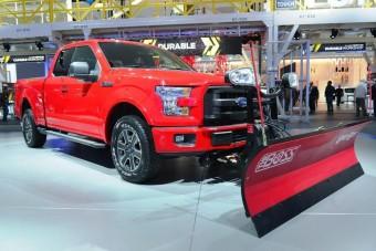 Hókotróval kínálja pick-upját a Ford