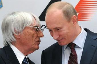 F1: Ecclestone besorolt Putyin mögé