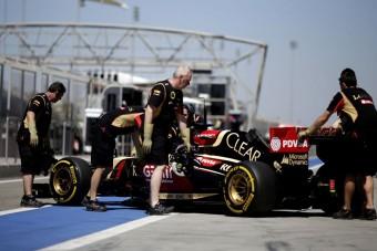 F1: Csak áprilisra lesz kész a Lotus