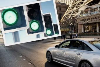 Az Audi megfejtette a zöldhullámok titkát