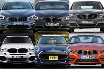 Összemossa modellcsaládjait a BMW