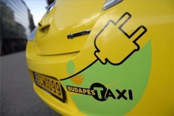 Elektromos és gázüzemű taxik Budapesten