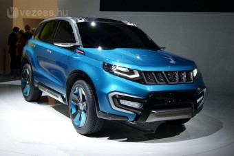Jön az új magyar Suzuki