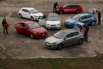Teszt: mindenki az Év Autója ellen