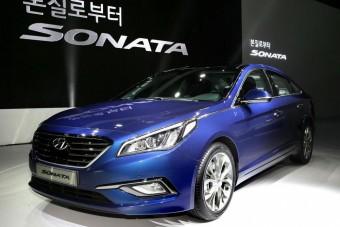 Nagyobb, komolyabb az új Hyundai Sonata