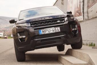 Range Rover KILENC fokozattal