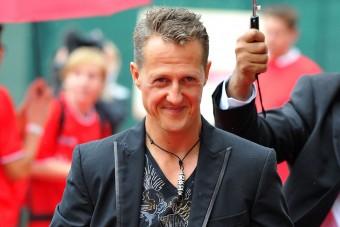 Schumacher csak pillanatokra van magánál