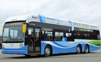 Hidrogénnel hajtott skót buszok