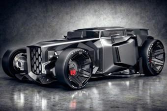 Pusztító Lamborghini, egyenesen a jövőből