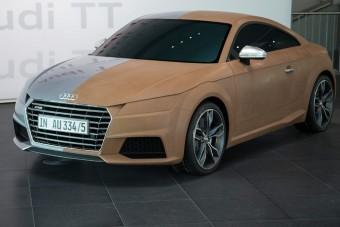 Audi TT - Hightech Magyarországról