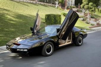 Eladó Michael Knight (majdnem) eredeti autója