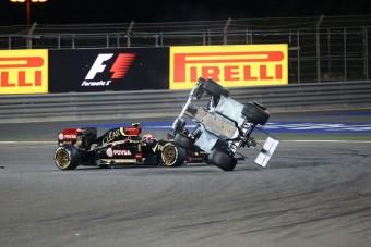 F1: Videón az év balesete