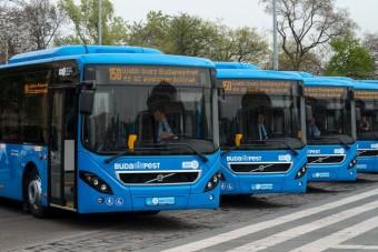 Hibrid buszokat kap Budapest