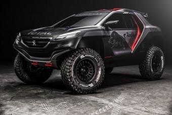 Peugeot 2008 DKR: fenevad a Dakarra