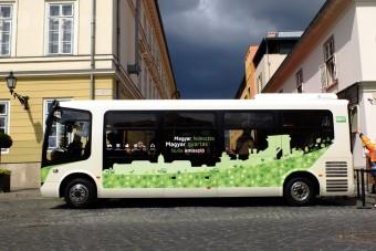 Itt az új magyar elektromos midibusz!