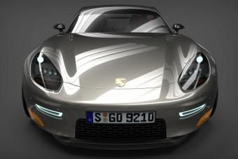 Négyszemélyes luxuskupé Porsche módra