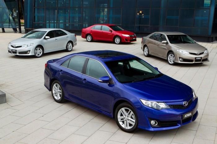 6. Toyota Camry, 791 815 db. 2013-ban utolsó évét taposta az aktuális Camry, ami alig hagyott nyomot a keresleten. A japán autók amerikai hódításának szimbóluma csupán egy százalékkal maradt el a korábbi évi eredményektől. A Camry Atara egy ausztrál különkiadás
