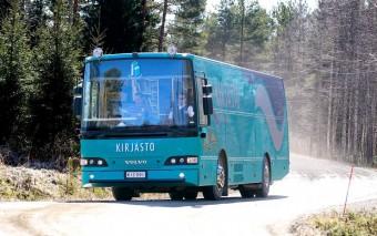 Könyvtárbusz a Télapó hazájából