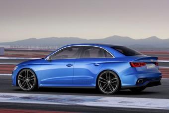 Még idén jöhet a brutális Audi RS3 szedán