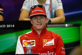 F1: Räikkönen rossz korba született