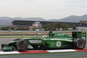 F1: Itt a vége, eladó a Caterham