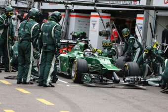 F1: Mégsem eladó a Caterham