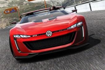 Videón a Volkswagen szupersportkocsija