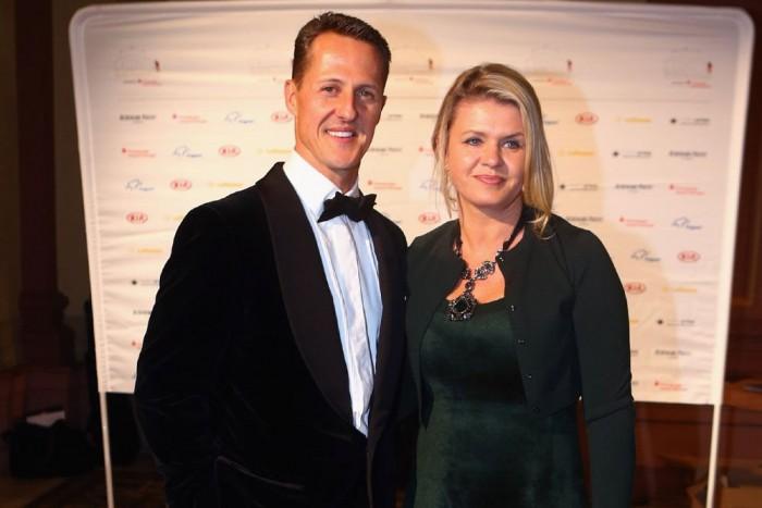 Michael és Corinna Schumacher (Fotó: Europress)