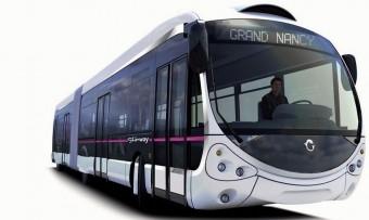 Futurisztikus buszok Bakunak