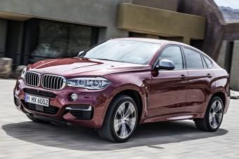 Itt a vadonatúj BMW X6!