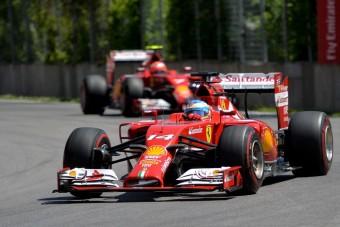 F1: Alonso kimondta, ez kevés a Ferraritól