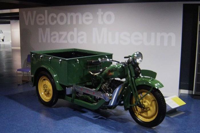 Isten hozta a Mazda világában! A legelső jármű