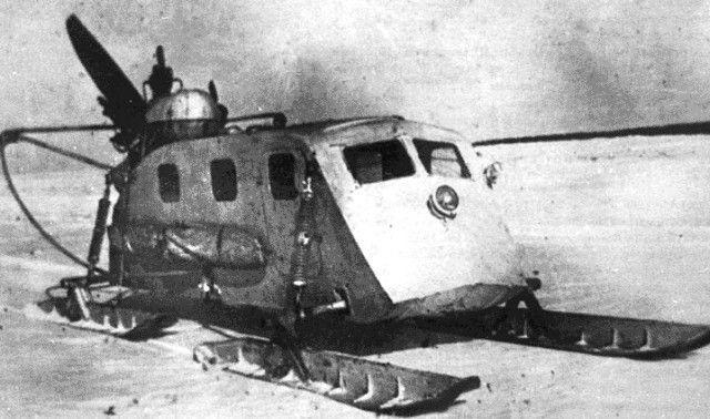Ezt a légcsavarral ellátott sítalpas rettenetet a Vörös Hadsereg használta a második világháború alatt