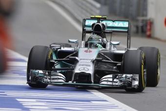 F1: A Mercedes a leggyorsabb a Red Bull pályáján