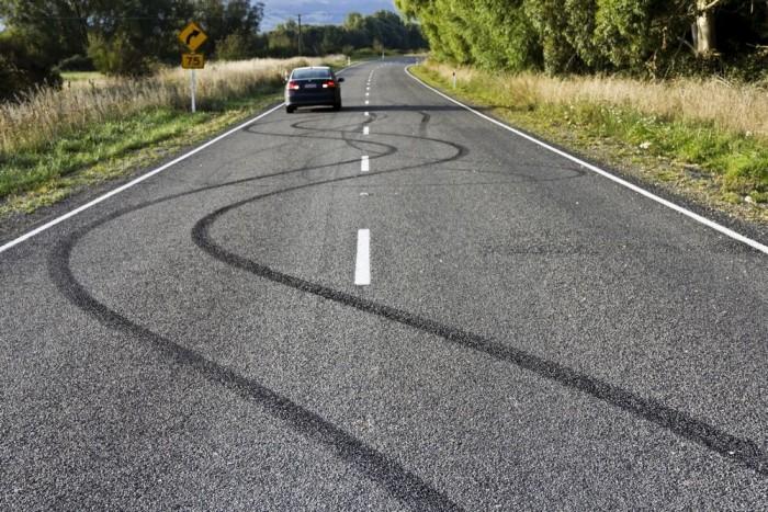 Szerencsére nem jött szembe semmi, de vajon nézte ezt a sofőr, amikor elrántotta a kormányt?
