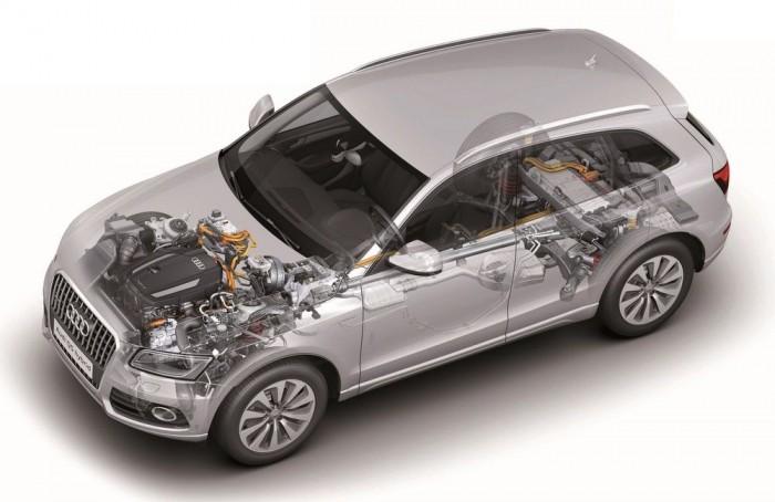 Audi Q5 Hybrid: buckás úton, nagyokat rugózva rengeteg áramot meg lehetne ám termelni