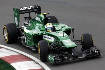 F1: Lecserélik a Caterham rusnya orrát