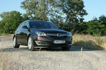 Insignia 2.0 DTE: ilyen egy prémium Opel